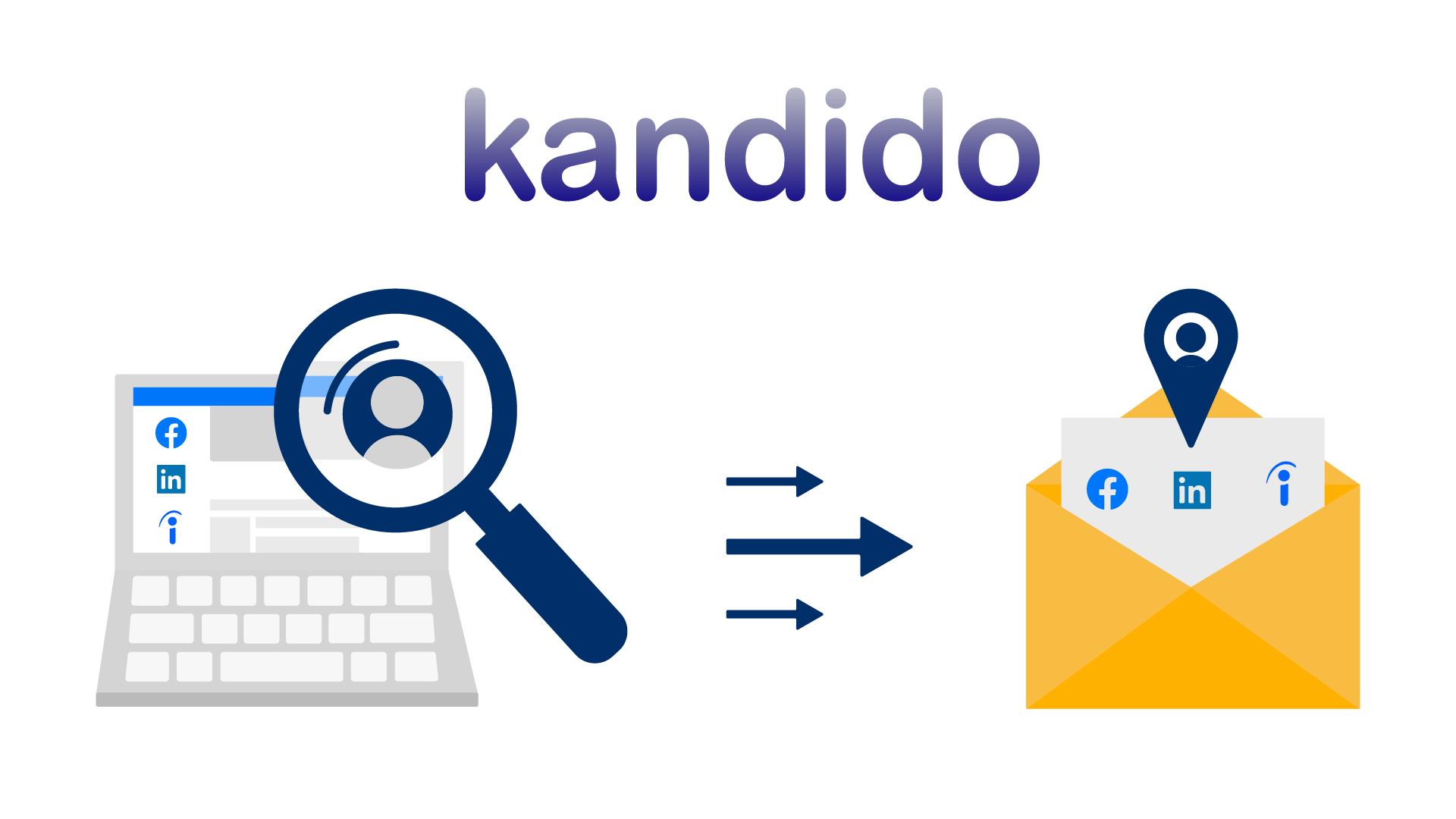 Kandido nu ook verbonden met Facebook